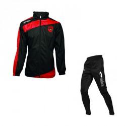 PACK ENTRAINEMENT : Coupe Vent PRESTIGE + Pantalon FUSEAU avec Flocage initiales