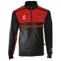 Veste ALLURE Noir/Rouge + Logo Club