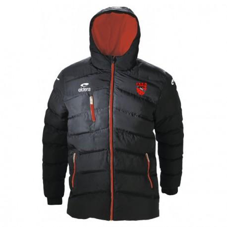 Parka NADA Noir/Rouge + Logo club