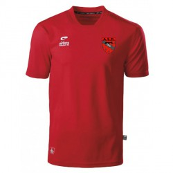 Maillot Echauffement CHAMPION Rouge + Logo club