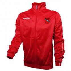 Veste Survêtement CHALLENGER Rouge + Logo Club